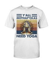 Need Yoga Classic T-Shirt front