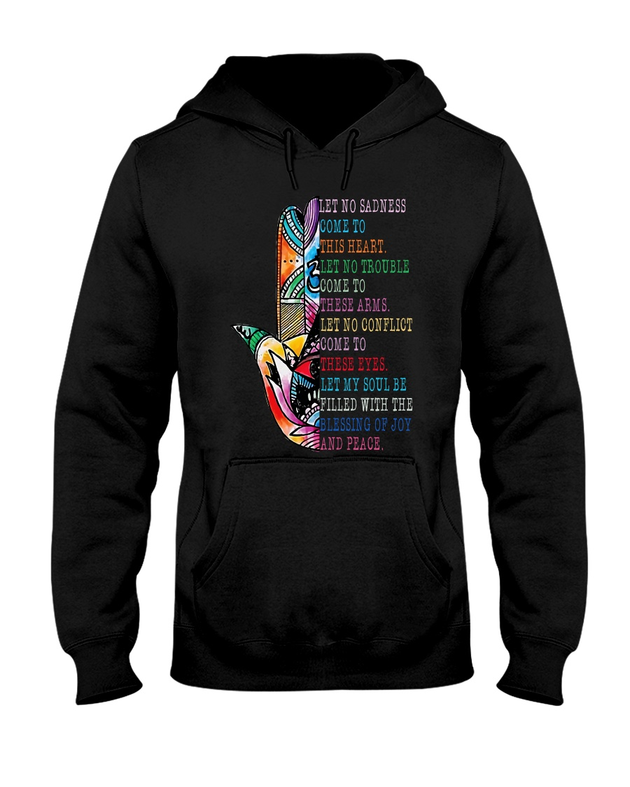 Blessing Of Joy And Peace Hooded Sweatshirt