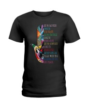Blessing Of Joy And Peace Ladies T-Shirt thumbnail