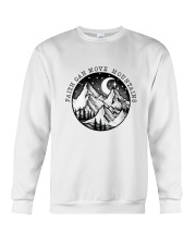 Faith Can Move Mountains Crewneck Sweatshirt thumbnail