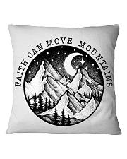 Faith Can Move Mountains Square Pillowcase thumbnail