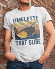 Omelette That Slide Classic T-Shirt apparel-classic-tshirt-lifestyle-26