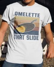 Omelette That Slide Classic T-Shirt apparel-classic-tshirt-lifestyle-28