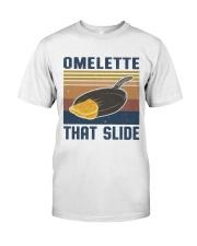 Omelette That Slide Classic T-Shirt front