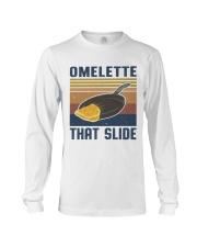Omelette That Slide Long Sleeve Tee thumbnail