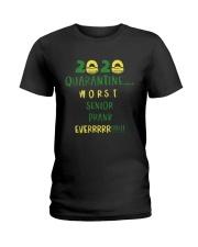 Quarantine 2020 Worst Ladies T-Shirt thumbnail