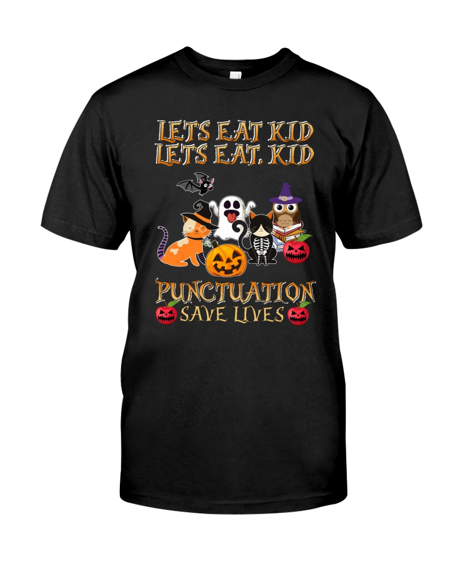 Punctuation Save Loves Classic T-Shirt