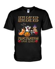 Punctuation Save Loves V-Neck T-Shirt thumbnail