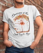 Dancing Is The Closest Thing Classic T-Shirt apparel-classic-tshirt-lifestyle-26