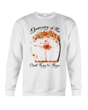 Dancing Is The Closest Thing Crewneck Sweatshirt thumbnail