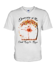 Dancing Is The Closest Thing V-Neck T-Shirt thumbnail