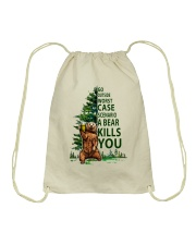 Plie Chasse Jete All Day Drawstring Bag thumbnail