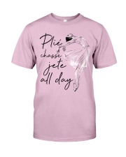 Plie Chasse Jete All Day Classic T-Shirt front