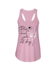 Plie Chasse Jete All Day Ladies Flowy Tank thumbnail
