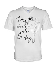 Plie Chasse Jete All Day V-Neck T-Shirt thumbnail