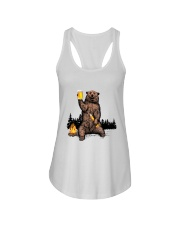 I Hate People Ladies Flowy Tank tile