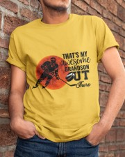 That's My Awesome Grandson Classic T-Shirt apparel-classic-tshirt-lifestyle-26