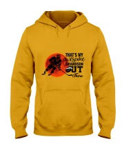 That's My Awesome Grandson Hooded Sweatshirt thumbnail