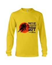 That's My Awesome Grandson Long Sleeve Tee thumbnail