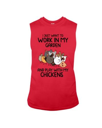 Want To Work In My Garden