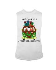 Merry Little Christmas Sleeveless Tee thumbnail