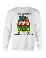 Merry Little Christmas Crewneck Sweatshirt thumbnail