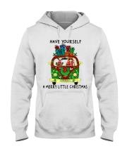 Merry Little Christmas Hooded Sweatshirt thumbnail