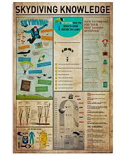 Skydiving Knowledge1 11x17 Poster front