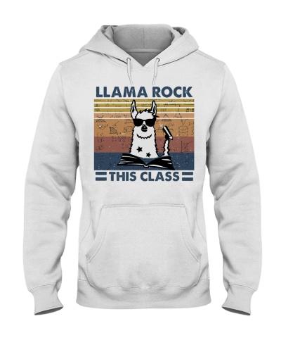 Llama Rock This Class