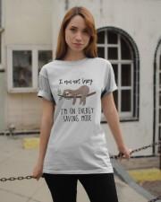 I Am On Energy Classic T-Shirt apparel-classic-tshirt-lifestyle-19