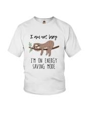 I Am On Energy Youth T-Shirt thumbnail