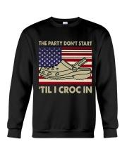 The Party Dont Start Crewneck Sweatshirt thumbnail