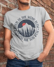 Watch The Sun Rise Classic T-Shirt apparel-classic-tshirt-lifestyle-26