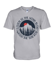 Watch The Sun Rise V-Neck T-Shirt thumbnail