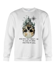 And Into The Forest I Go Crewneck Sweatshirt tile