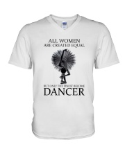 All Woman Are Created Equal V-Neck T-Shirt thumbnail