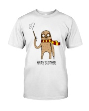 Hairy Slother Classic T-Shirt front