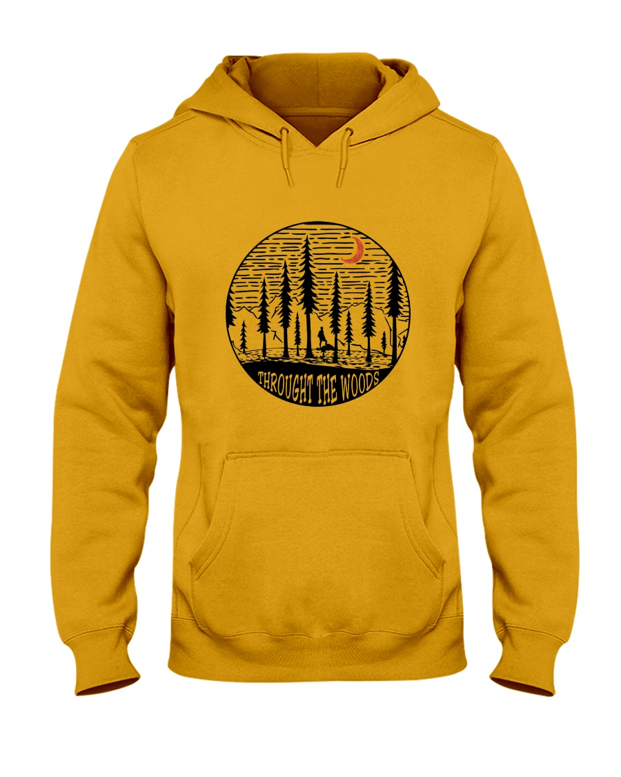 Throught The Woods Hooded Sweatshirt