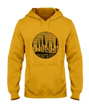 Throught The Woods Hooded Sweatshirt front