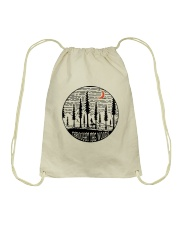 Throught The Woods Drawstring Bag thumbnail
