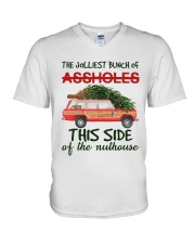 This Side Of The Nuthouse V-Neck T-Shirt thumbnail