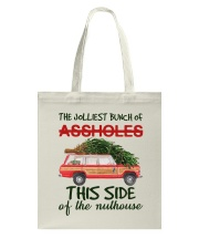 This Side Of The Nuthouse Tote Bag thumbnail