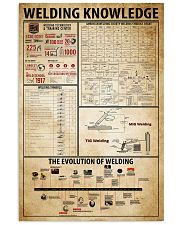 Welding Knowledge 11x17 Poster front