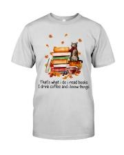 I Read Books Premium Fit Mens Tee thumbnail