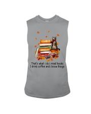I Read Books Sleeveless Tee thumbnail