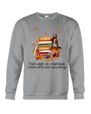 I Read Books Crewneck Sweatshirt thumbnail