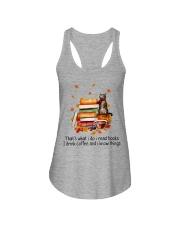 I Read Books Ladies Flowy Tank thumbnail