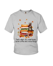I Read Books Youth T-Shirt tile