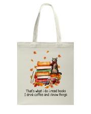 I Read Books Tote Bag thumbnail