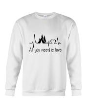 All You Need Is Love Crewneck Sweatshirt thumbnail